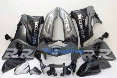Honda CBR900RR 919 1998-1999 ABS Fairing - Gray/black