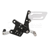 Rearset Rear Set Footpegs For Suzuki GSXR 600 750 2003 2004 2005 Adjustable Pegs