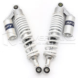 "Universal 340mm 13.5"" Rear Shock Absorber Air Suspension For Honda ATV White"