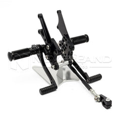 Adjustable CNC Racing Foot Pegs Pedals Rearset Rear Set For KAWASAKI ZX-14 06-11
