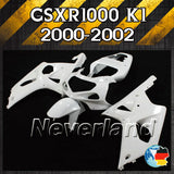 Unpainted Fairing Kit for SUZUKI GSX-R 1000 2000-2002 K1 - neverland-motor