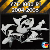 Unpainted Bodywork Fairing Kit Fits 2004-2006 Yamaha YZF R1 Injection ABS - neverland-motor
