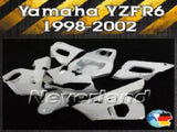 Unpainted Fairing Kit For 98-02 Yamaha YZF 600 R6 1998 Injection ABS - neverland-motor