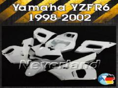 Unpainted Fairing Kit For 98-02 Yamaha YZF 600 R6 1998 Injection ABS