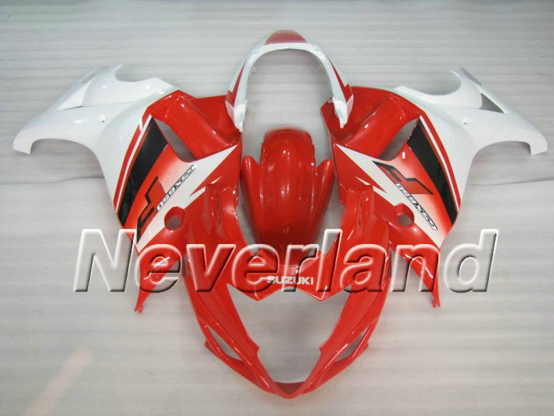 Suzuki GSX650F Katana 2008-2013 ABS Fairing - Red/White