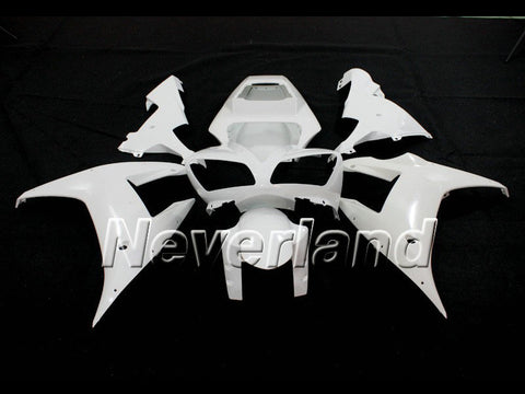 Unpainted Bodywork Fairing Kit 2002 2003 Yamaha YZF R1 Injection ABS NEW
