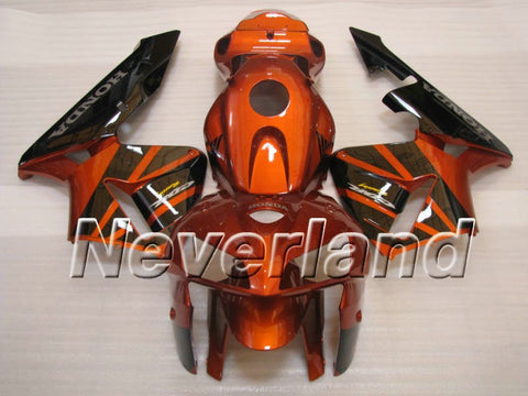 dHonda CBR 600RR F5 2005-2006 ABS Fairing - Orange/Golden/Black
