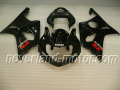 SUZUKI GSX-R 1000 2000-2002 K1 ABS Fairing - Black