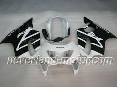 Honda CBR600 F4 1999-2000 ABS Fairing - Black/White