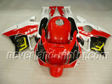 Honda CBR600 F2 1991-1994 ABS Fairing - Red/Black/White
