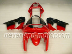 KAWASAKI NINJA ZX9R 1998-1999 ABS Fairing - Red/Black