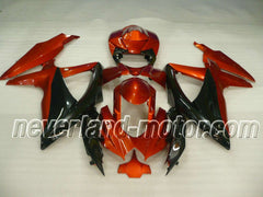 SUZUKI GSX-R 600/750 2008-2010 K8 ABS Fairing - Orange/Golden/Black