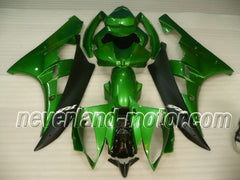 Fairing Injection Mold For 2006 2007 Yamaha YZF 600 R6 06-07 YZFR6 Green&Black