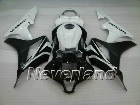 Honda CBR 600RR F5 2007-2008 ABS Fairing - Black/White
