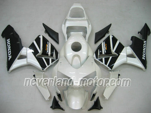 Honda CBR 600RR F5 2003-2004 ABS Fairing - White/Black