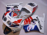 HONDA CBR 250RR MC22 1991-1998 ABS Fairing - White/Blue/Red
