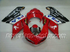 Fairing Kit for Ducati 1098 848 1198 2007 2008 2009 2010 2011 Bodywork Mold ABS