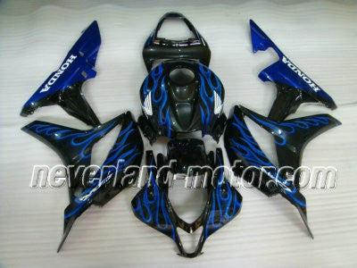 Honda CBR 600RR F5 2007-2008 ABS Fairing - Blue Flame - Promotion