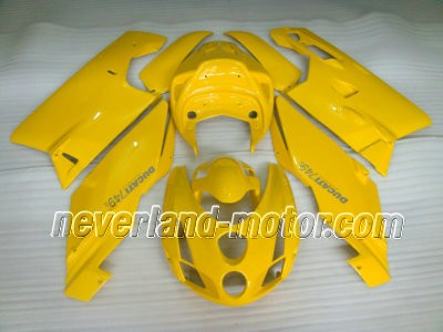 Ducati 749 / 999 2003-2004 ABS Fairing - All Yellow