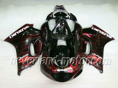 Suzuki RGV250 VJ23 1996-1999 ABS Fairing - Red Flame