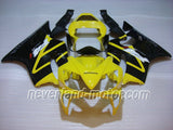 Honda CBR600 F4i 2001-2003 ABS Fairing - Yellow/Black