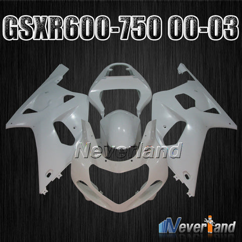 Fairing for Suzuki GSXR 600 750 2001 2002 2003 Molding Injection Body Kit 01-03