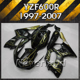 Fairing Kit for 1997-2007 2004 2005 2006 Yamaha YZF 600R Thundercat Bodywork - neverland-motor