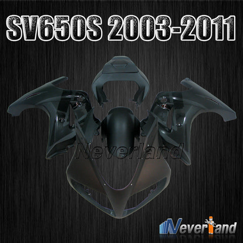 Bodywork Fairing kit For 2003 2004 2005~2013 Suzuki SV650S SV 650S