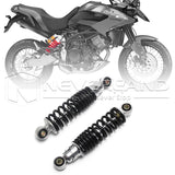 "10.24"" 260mm Motorcycle Shock Absorber Suspension Fit Universal Motorcycle Black"
