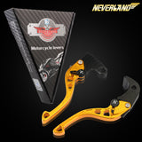 CNC Short Adjustable Brake Clutch lever for SUZUKI All Series - neverland-motor