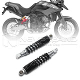 "15.75"" 400mm Motorbike Rear Shock Absorbers Air Suspension For Yamaha Quad Black"