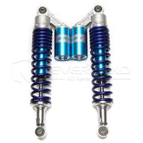 "15"" 380mm Rear Shock Absorbers Air Suspension For Yamaha Honda Suzuki ATV Blue"