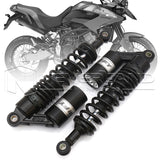 "320mm 12.5"" Motor Rear Shock Absorbers Air Suspension For Harley KTM Black"