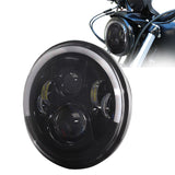 "7"" Projector Daymaker LED Angel Halo Eye Headlight Bulb For Harley 883 Universal"