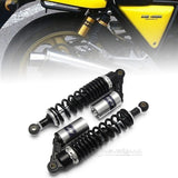 "2pcs 13.5"" 340mm Motorcycle Quad Rear Shock Absorbers Air Suspension Universal"