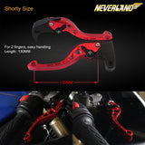 CNC Short Adjustable Brake Clutch lever for HONDA All Series - neverland-motor