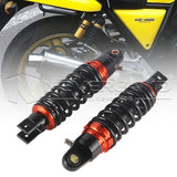 "2pcs 9.25"" 235mm Motor Rear Shock Absorber Gas Suspension Spring Damper Black"