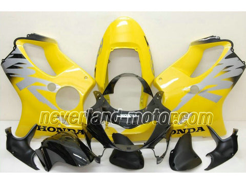 Honda CBR600 F4 1999-2000 ABS Fairing - Black/Yellow