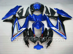 SUZUKI GSX-R 600/750 2008-2010 K8 ABS Fairing - Blue/Black