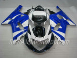 SUZUKI GSX-R 600/750 2001-2003 K1,K2 ABS Fairing - Blue/White/Black