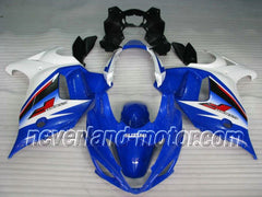 Suzuki GSX650F Katana 2008-2013 ABS Fairing - Blue/White Neverland