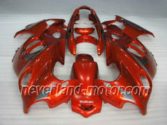 Suzuki GSX 600F 750F Katana 2005-2006 ABS Fairing - Orange/Silver