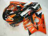 Honda CBR600 F3 1995-1996 ABS Fairing - Orange/Black