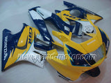Honda CBR600 F3 1997-1998 ABS Fairing - Yellow/Blue