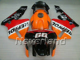Fairing Molded Aftermarket Kit for Honda CBR600RR F5 2003-2004 Injection 03 04