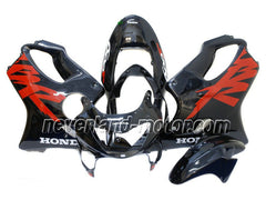 Honda CBR600 F4 1999-2000 ABS Fairing - Black/Red