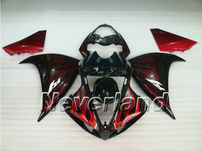 Fairing Kit For 2009-2012 Yamaha YZF R1 YZF 1000 R1 Bodywork Injection ABS 09 10