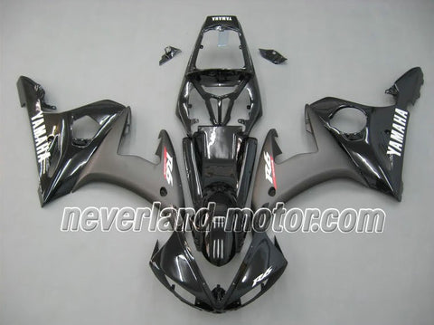 YAMAHA YZF-R6 2004-2005 ABS Fairing - All Black