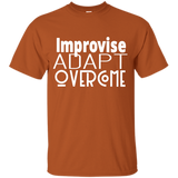 Youth Cotton Graphic Tee - Improvise, adapt, overcome