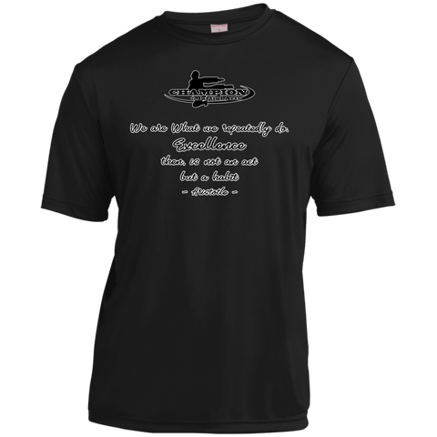 Youth Moisture-Wicking Shirt - BB We are what we repeatedly do